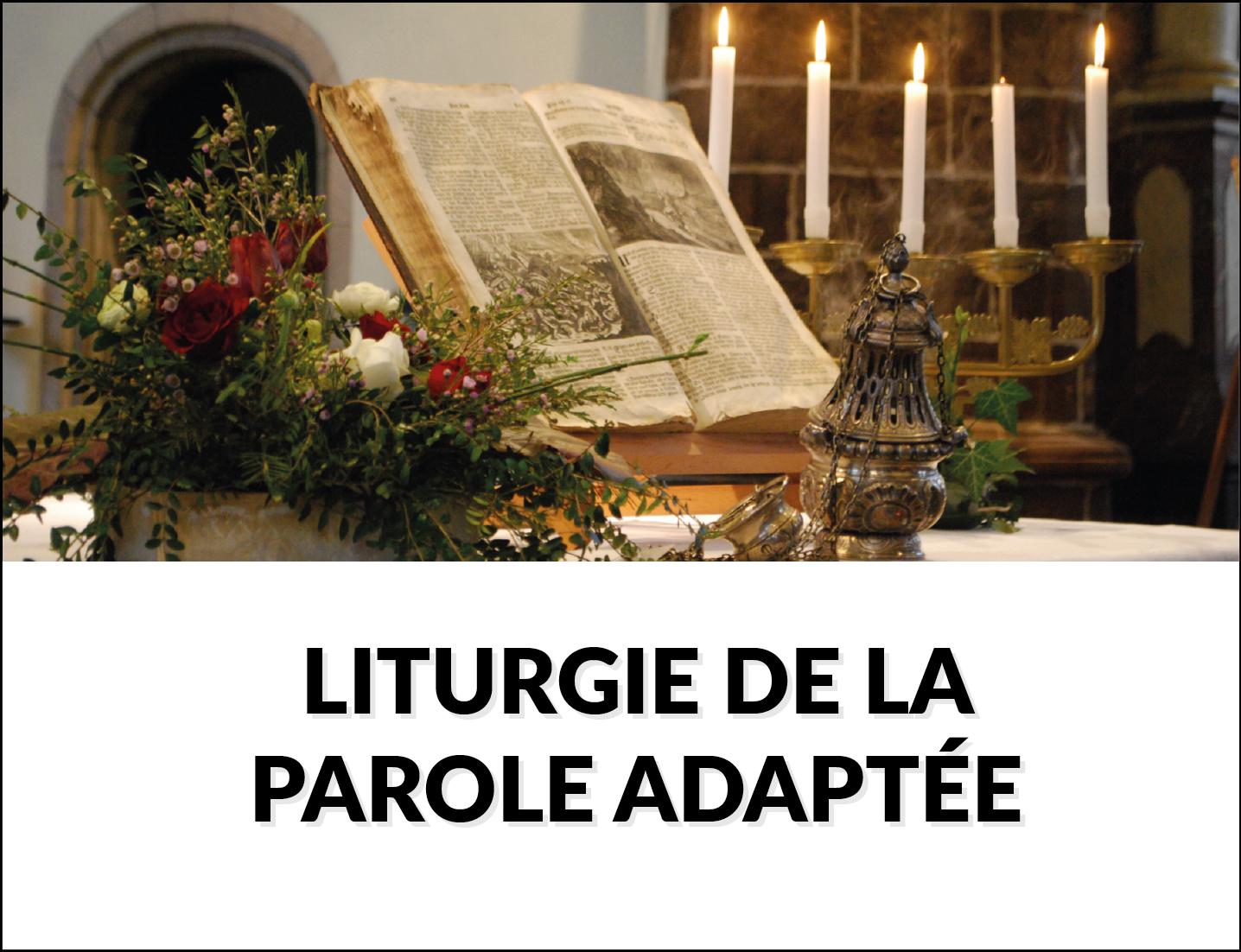Liturgie de la Parole adaptée