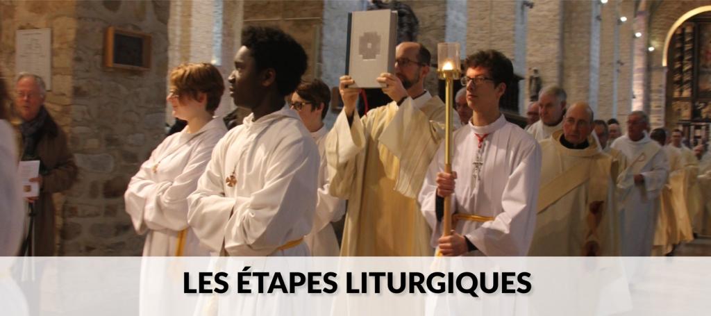 Les étapes liturgiques site